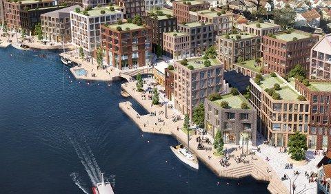Cityplans planer for Trosvikstranda gir området et betydelig ansiktsløft.