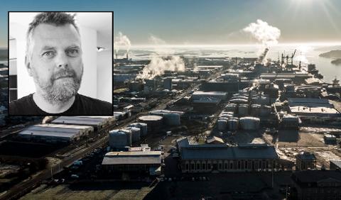 Hvor bedriften skal etablere seg, vet vi foreløpig ikke. Men bedriftsledelsen har sett nærmere på et lokale i Øra industriområde.  (Geir A. Carlsson/privat)