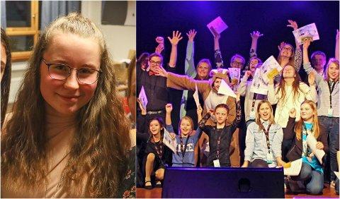 BER POLITIKERNE OM HJELP: Maia Noble-Strand er leder i Evenes ungdomsråd. Nå ber hun politikerne om hjelp til å redde Ungdommens kulturmønstring for småkommunene Evenes, Tjeldsund og Skånland.
