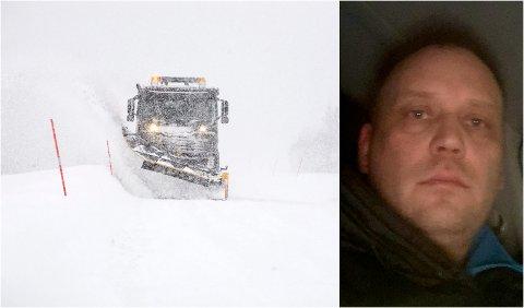 SLUTTER: Entreprenør Rune Thomassen sier opp brøytekontrakten i Nord-Troms etter lang tid med netthets. – Vintervedlikehold er verdens mest utakknemlige jobb.