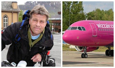 KRITISK: Den erfarne SAS-kapteinen Per Gunnar Stensvaag er kritisk til konkurrenten Wizz Air.