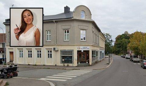 NYE EIERE: Nina Høghjelle har solgt lokalene sine i Storgata 7A.