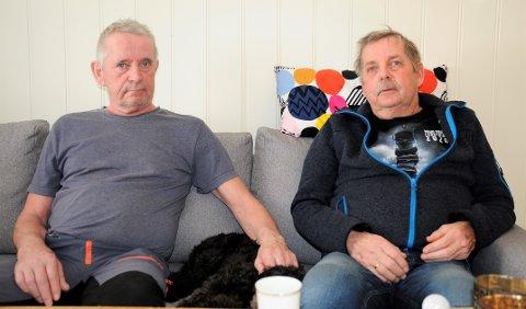 BRØDRE: Per Henriksen (t.v) var ikke i tvil om valget han tok for å hjelpe lillebror Geir Henriksen.