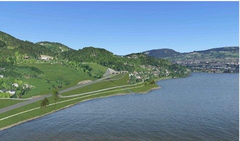 Fylkesmannen har i siste omgang valgt å trekke innsigelse mot E-6-alternativet med felles tunnelinnslag på Riselandet.