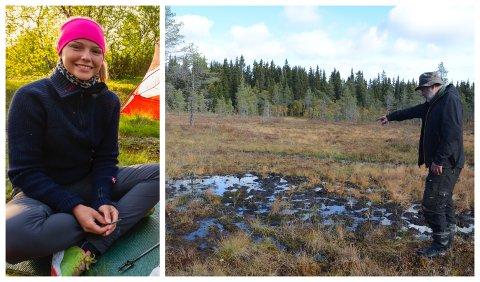 Langrennsjenta Vibeke Persen fra Finnmark, er vant å trene i myr og dårlig vær, men nylig kunne det gått galt for den tøffe 19-åringen som bor på Lillehammer på fjerde året. Hun takker sin redningsmann Arne Sæther (53) (bildet).