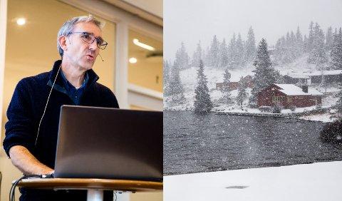 Tall fra SSB viser at vi har 431.000 hytter i Norge, i tillegg til nesten 33.000 helårsboliger som benyttes som fritidsboliger. – Det blir flere hytter og større hytter, og det krever store arealer. Sjusjøen har det området som er tettest utbygd, sa Lasse Heimdal fra Norsk Friluftsliv, i sitt innlegg «Utfordringer ved økt utbygging i fjellet» på møtet i høst.