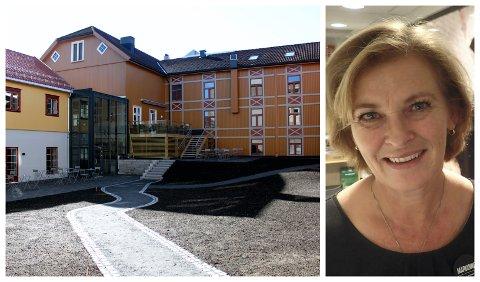 TOPPSJIKT: Hotelldirektør Marianne Haraldsen er stolt og glad over at Clarion Collection Hotel Hammer får så god attest fra gjestene.