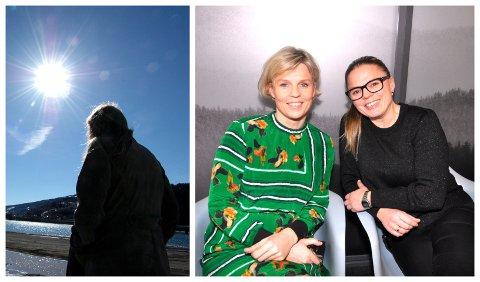 FOREBYGGER: - Handlingsplanen er et ledd i en strategi for å redusere forekomsten av selvmord og selvskading, sier Astrid Stensrud og Stine Tøndevold i oppvekstetaten i Lillehammer kommune.