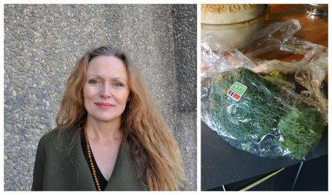 OPPGITT: - Jeg blir sint og skuffet når problemet med plast ikke blir tatt på alvor, sier Nina Dreyer Henjum.