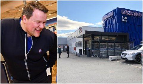 Simen Rusten har drevet butikken i Røyslimoen i fem år med stor suksess.