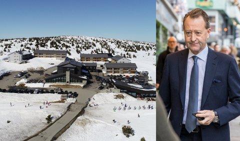 Det er 50-60 ansatte på Pellestova i Øyerfjellet. Bjørn Rune Gjelsten er eier.