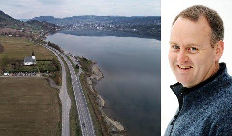 FIKK STORKONTRAKT: AF Gruppen med konsernsjef Morten Grongstad fra Fåberg skal bygge ut den siste delen av ny firefelts E6 til Lillehammer. Kontrakten har en utbyggingsverdi på 3,9 milliarder kroner.
