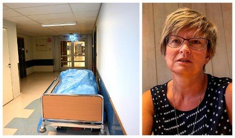 I BEREDSKAP:  Ellen Henriette Pettersen, fagdirektør i Sykehuset Innlandet, er forberedt på at det kan bli knapphet både på personell og utstyr hvis det blir mange koronasmittede i Innlandet