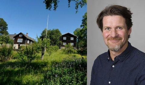 KORONAEFFEKTEN:- Reduserte åpningstider ved dikterhjemmene er helt nødvendig i år, sier Kjell Marius Mathisen ved Lillehammer museum.