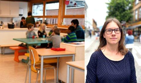 SA FRA: Mange foreldre er mellomfornøyde med SFO-tilbudet. Torhild Kraft, FAU-leder ved Nordre Ål skole, måtte ta saken opp med skoleledelsen. Det hjalp. BIldet til venstre er et illustrasjonsfoto..
