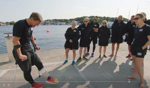 En strekk i leggen satte en stopper for deltakelse i Mesternes mester for Øystein Pettersen.