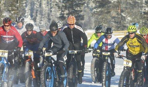 NM: I februar 2018 er det klart for et nytt NM i fatbike på Lygna.