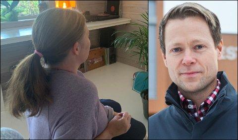 STØTTE: Ordfører Harald Tyrdal har engasjert seg for at familien på Harestua kan få behandling for sin syke datter på Ahus.