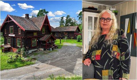SELGER OG FLYTTER: Keramiker Laila Marie Brenno-Varlen selger huset i Nordre Brandbu og flytter til Danmark.