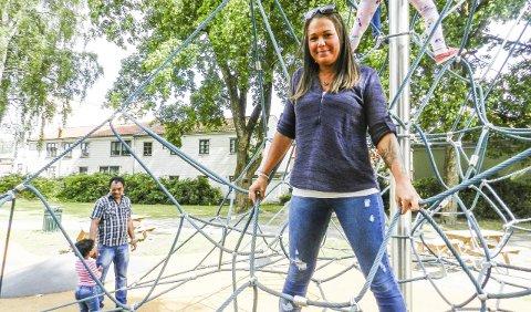 SKAL TIL GALDHØPIGGEN: Mikaela Røstadli Dahl gleder seg over at organisasjonen nok en gang har fått innvilget økonomisk støtte til sine tiltak. Denne sommeren tar de med mange Halden-ungdommer til Galdhøpiggen.