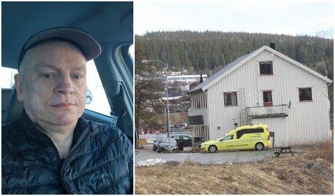 Øystein Heggli er glad for at det står ambulanse i Hattfjelldal sentrum.