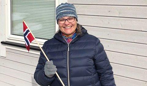 SEIER: - I dag heiser vi flagget, sier en lettet Jenny Hågensen som denne uka fikk innvilget uføretrygd, etter snart 20 års kamp mot systemet.