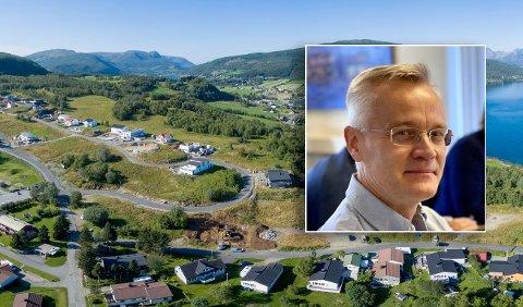 Einar Mustaparta og Musta Eiendom sier at de nå begynner forberedelsene til å bygge boliger i stedet for skole.