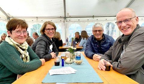 Mariann Valberg, Herdis Valberg Gabrielsen, Asle Valberg og Geir Gabrielsen