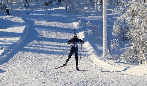 NORGESCUP: Mari Kilskar Grevskott gikk inn til 11.- og 20. plass i helgas norgescuprenn i skiskyting.