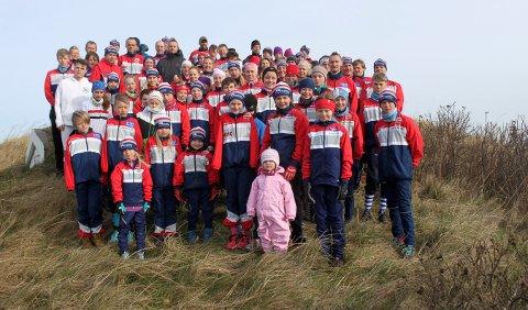 AVLYST: Kongsberg O-lags løpere skulle startet sesongen på Jylland denne helgen. Nå er løpene og turen avlyst. Bildet er fra en tidligere samling i Danmark.