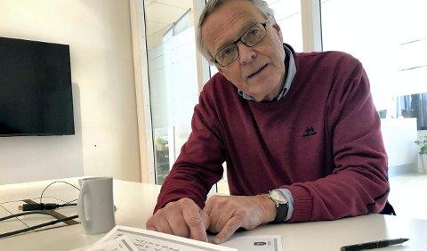 OPPKLARER: Kjell Gunnar Hoff er styreleder i KKE og vil presisere at kulturskolen og musikklinja på Kongsberg videregående skole trenger større lokaler enn bare gamlekinoen på Tråkka.