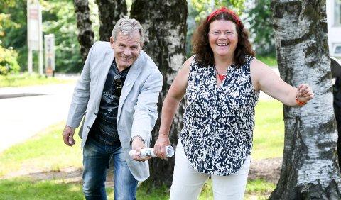 TAR OVER: Kathy Lie satser på å ta over stortingsplassen til Arne Nævra. Men det er små marginer som kommer til å avgjøre.