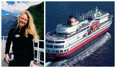 MISTET TILTRO:  Sara Domeij er permittert svensk ansatt i Hurtigruten.
