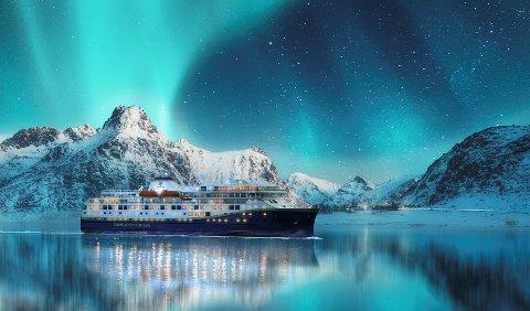 Sommeren: To av de nye skipene til Havila Kystruten skal være i drift fra sommeren.