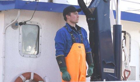 FISKER: Petter Myklebust er fisker, og har nå etablert et investeringsselskap