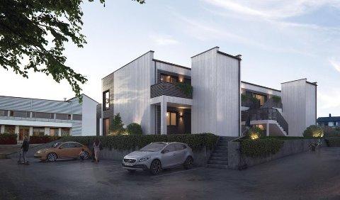 Slik planlegger Teft å bygge «Zackariassenhuset» i Televeien 11 på Leknes.