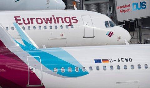 Vokser: Lavprisselskapet Eurowing vokser i rakettfart. Det kan føre til billigere flybilletter.