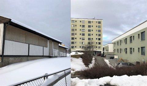 De forfalne boligene i Stamhusveien 43 (t.v.) og den gamle institusjonen i Marmorveien 2 skal rives.