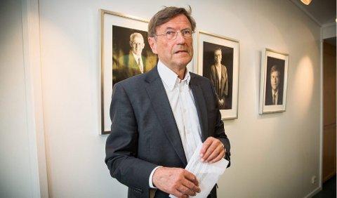 FEILPARKERT: Tromsø-ordfører Jarle Aarbakke sier til iTromsø at hvis han har benyttet en handikapplass, så er det kun for et kort øyeblikk.