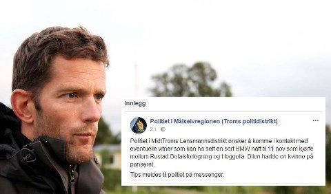 - ALVORLIG FORHOLD: Ragnar Schjølset, seksjonsleder ved patruljeseksjonen i Midt-Troms lensmannsdistrikt bekrefter at politiet etterforsker dette som et alvorlig straffbart forhold.