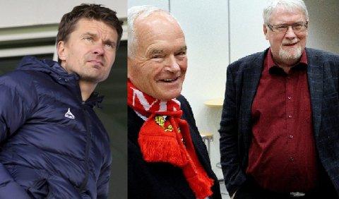 MANGE VEIER TIL ROM: Både Svein-Morten Johansen og TIL-venn Kjell Kolbeinsen gleder seg over at det er flere veien inn på TILs a-lag.