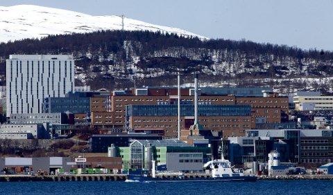 ANSATTE I STREIK: Sykehusstreiken rammer nå også Universitetssykehuset Nord-Norge (UNN), der ansatte ifølge NTB er tatt ut i streik. Foto: Torgrim Rath Olsen