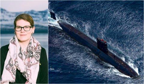 Rødt-politiker Anne-Linn Lernes i Tromsø.