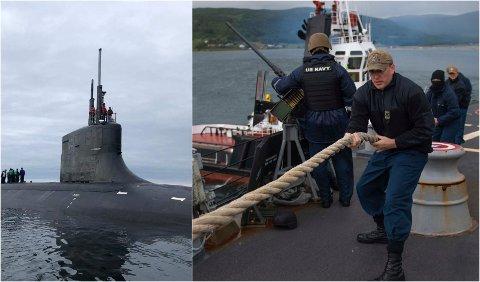 Den amerikanske angepsubåten «USS Seawolf» og jageren «USS Roosevelt» har den siste måenden besøkt Tromsø.