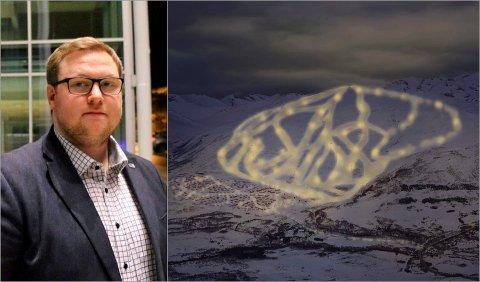 Høyres gruppeleder Erlend Svardal Bøe vil kompromisse med Arbeiderpartiet for å få gjennom godkjenning av reguleringsplanen for Arctic Center.