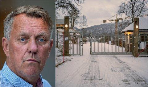 HEMMELIG: Tromsø-ordfører Gunnar Wilhelmsen har solgt seg ned i marinebasen Olavsvern. Men Wilhelmsen holder de økonomiske kortene tett til brystet.