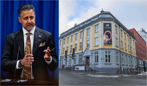 MÅ RYDDE OPP: Ansatte ved Nordnorsk kunstmuseum ber nå kulturminister Abid Raja gripe inn og bytte ut styret.
