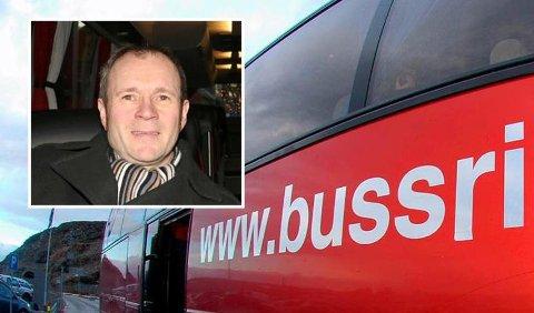 Daglig leder i Bussring, Henry Nyvoll. Foto: Rikke Lange