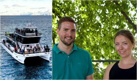 FÅR INGEN STØTTE: Espen Larsen-Hakkebo og Agnes Arnadottir er gründerne bak oppstartsselskapet Brim Explorer.