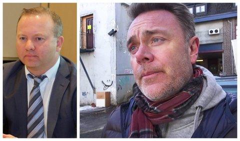 TØFFE TIDER: Konsernsjef Tomas Norager Haugan og eier Bård Sverdrup i William Eiendom.